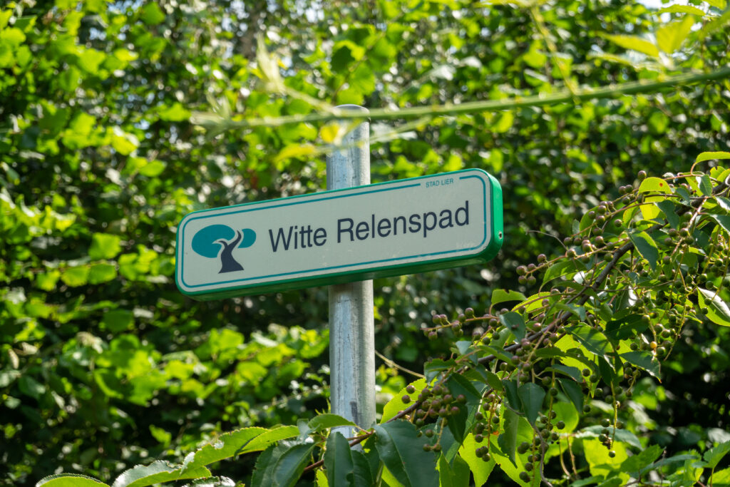 Witte Relenspad